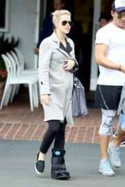 Claire Holt Stills Out and About in West Hollywood