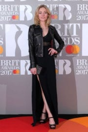 Clara Paget Stills at The Brit Awards at O2 Arena in London