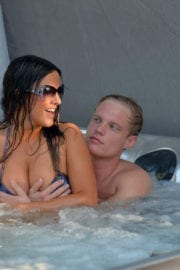 Claudia Romani and Christopher Johns Stills at a Spa in Florida
