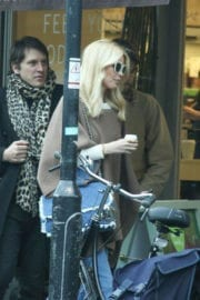 Claudia Schiffer Stills at a Photoshoot for Channel in Notting Hill