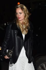 Cressida Bonas Stills at Harvey Weinstein Pre Baftas Dinner in London