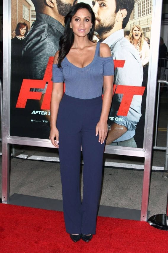Crystal Marie Denha at 'Fist Fight' Premiere in Westwood