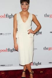 Cush Jumbo at 'The Good Fight' Premiere in New York