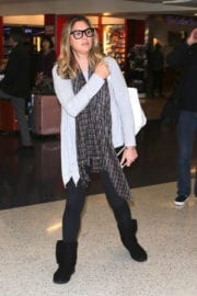 Daisy Fuentes arriving at LAX Airport in Los Angeles