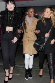 Daisy Lowe, Otlile Mabuse and Louise Redknapp Stills Night Out in London