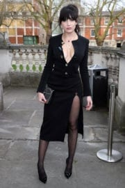 Daisy Lowe Stills at Christopher Kane Fashion Show in London