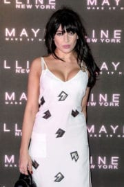 Daisy Lowe Stills at Maybelline's Bring on the Night Party in London