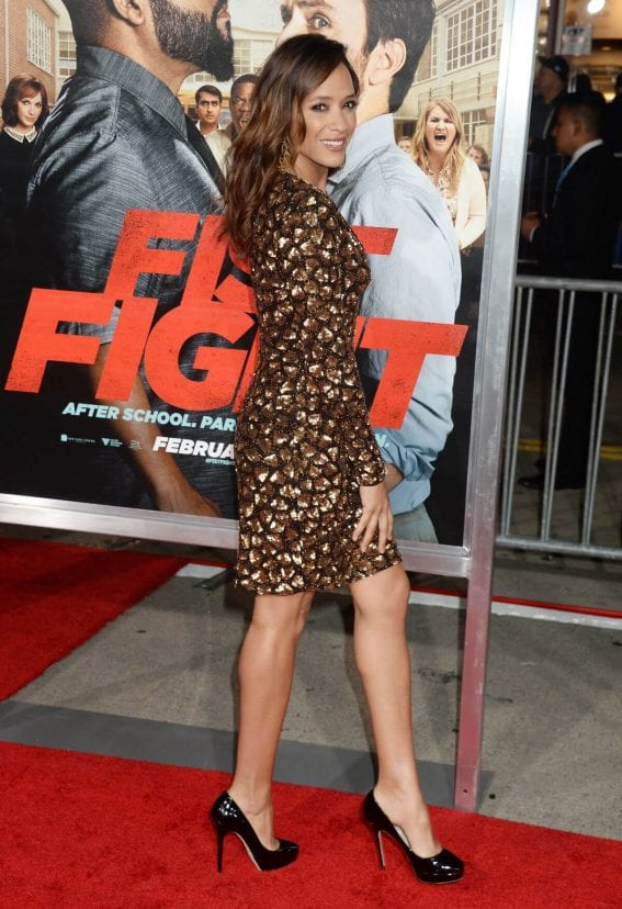 Dania Ramirez at 'Fist Fight' Premiere in Westwood