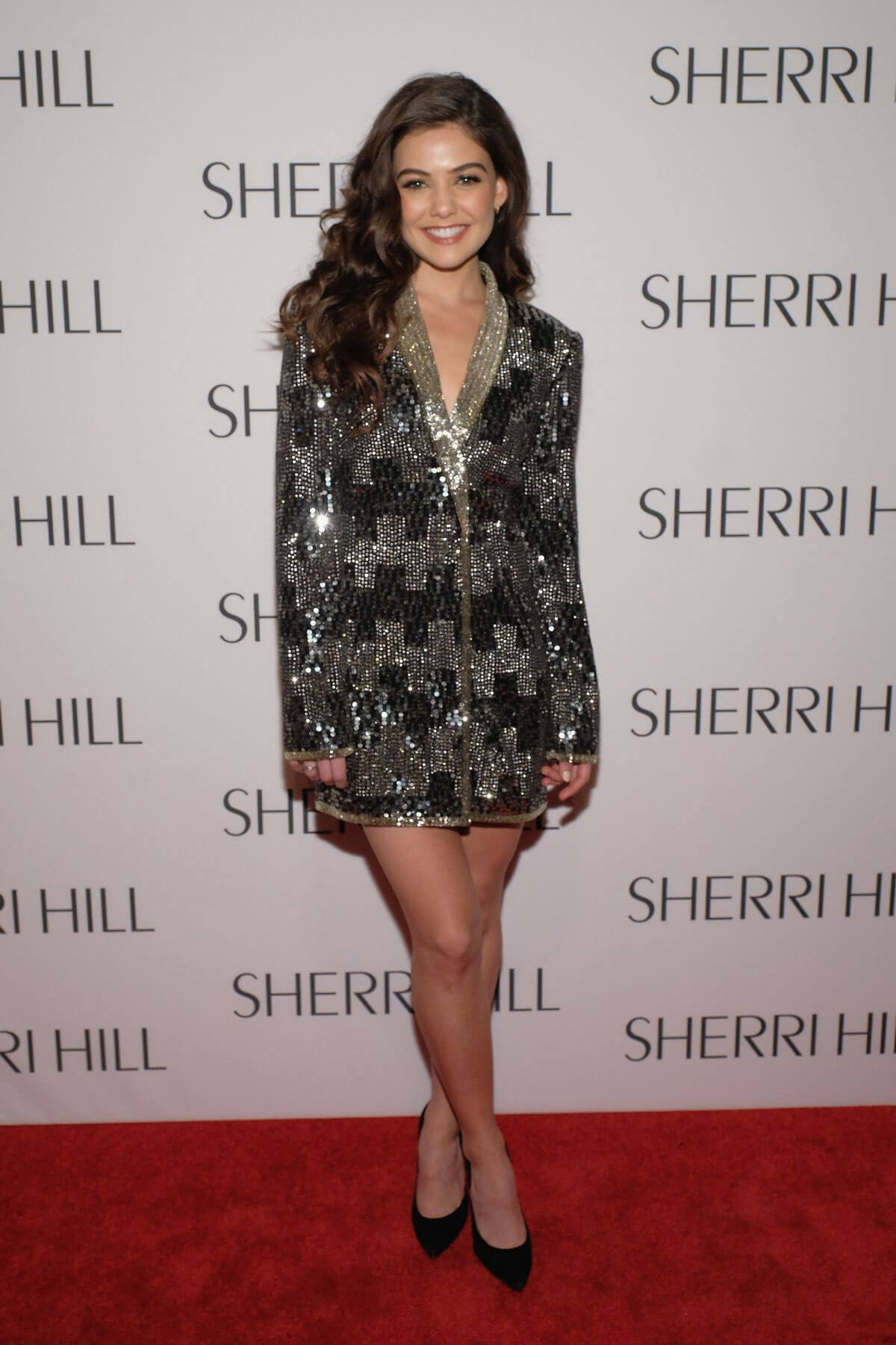 Danielle Campbell at Sherri Hill Fashion Show at New York Fashion Week