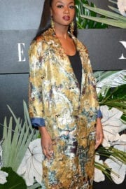 Deshauna Barber at ELLE, E! and Img New York Fashion Week Kick-off Party in New York