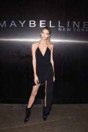 Devon Windsor at Maybelline MYFW Welcome Party in New York