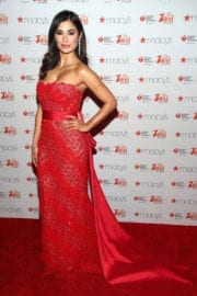 Diane Guerrero at American Heart Association's Go Red for Women Red Dress Collection 2017
