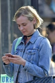 Diane Kruger Stills Out and About in New York
