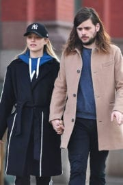 Dianna Agron and Winston Marshall Stills Out in New York