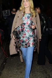 Donna Air Stills at Burberry Fashion Show After Party in London