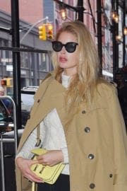 Doutzen Kroes Stills Out and About in New York