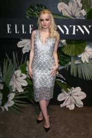 Dove Cameron at ELLE, E! and Img New York Fashion Week Kick-off Party in New York