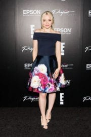 Dove Cameron at Epson Digital Couture Presentation February 2017 in New York