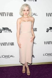 Dove Cameron Stills at Vanity Fair and L'Oreal Paris Toast to Young Hollywood
