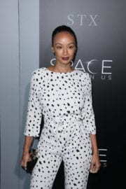 Draya Michele at 'The Space Between Us' Premiere in Los Angeles