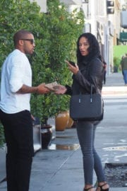 Draya Michele Out and About in Beverly Hills