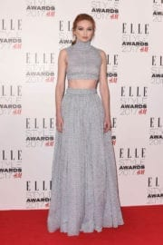 Eleanor Tomlinson at Elle Style Awards 2017 in London