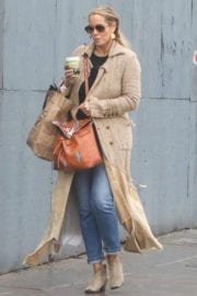 Elizabeth Berkley Out for Coffee in West Hollywood