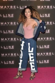 Ella Eyre Stills at Maybelline's Bring on the Night Party in London