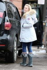 Elle Evans Out and About in Aspen