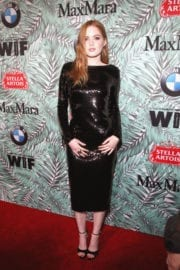 Ellie Bamber Stills at 10th Annual Women in Film Pre-oscar Party in Los Angeles
