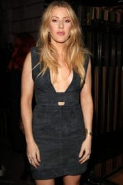 Ellie Goulding Stills at Burberry Fashion Show After Party in London