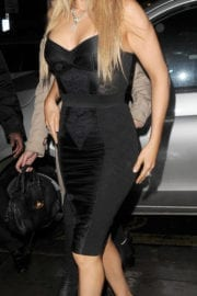 Ellie Goulding Stills at Universal and Warner Music Brit Awards Party in London