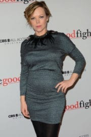 Emily Bergl at 'The Good Fight' Premiere in New York