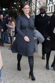 EMILY DESCHANEL Out and About in New York