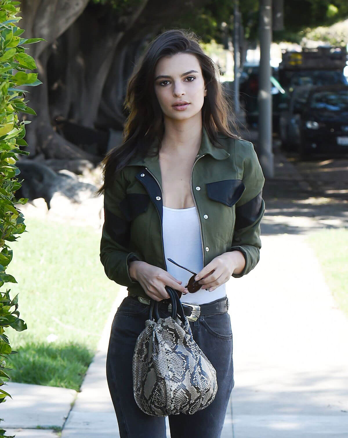 Emily Ratajkowski Stills Out and About in Los Angeles