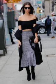 Emily Ratajkowski Stills Out and About in New York