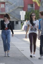 Emma Kenney and Ruby Modine Stills Out in Venice Beach