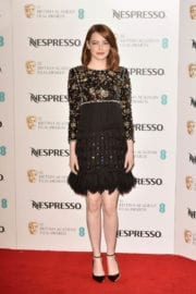 Emma Stone at Bafta Nominees' Party in London