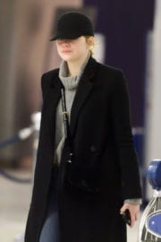 Emma Stone at JFK Airport in New York