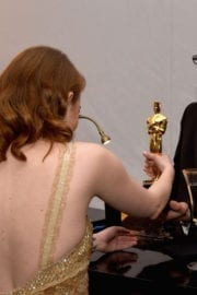 Emma Stone Stills at 89th Annual Academy Awards Governors Ball