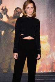 Emma Watson Stills at Beauty and the Beast Photocall in London