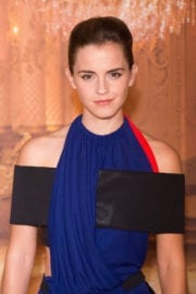 Emma Watson Stills at Beauty and the Beast Photocall in Paris