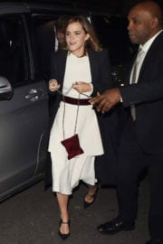 Emma Watson Stills at Beauty and the Beast Premiere After Party in London