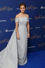 Emma Watson Stills at Beauty and the Beast Premiere in London