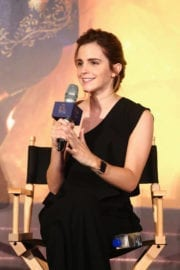 """Emma Watson Stills at """"Beauty and the Beast"""" Press Conference in Shanghai"""