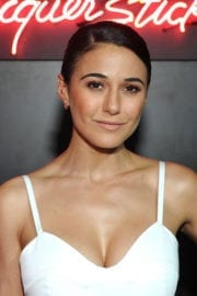 Emmanuelle Chriqui at Dior Addict Lacquer Stick Launch in West Hollywood