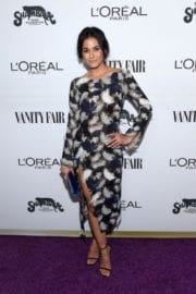 Emmanuelle Chriqui Stills at Vanity Fair and L'Oreal Paris Toast to Young Hollywood