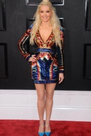 Erika Jayne at 59th Annual Grammy Awards in Los Angeles