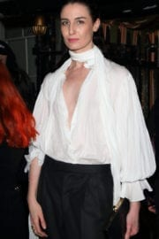 Erin O'Connor Stills at Burberry Fashion Show After Party in London