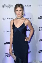 Eugenie Bouchard Stills at Sports Illustrated Swimsuit Edition Launch in New York